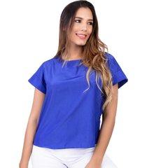 blusa azul rey ragazzy r-11087