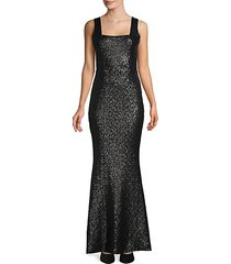 sleeveless mermaid gown