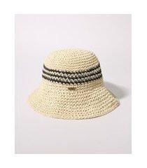 chapéu de praia feminino dobrável bege