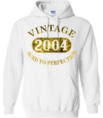 vintage 2004  aged to perfection blend hoodie