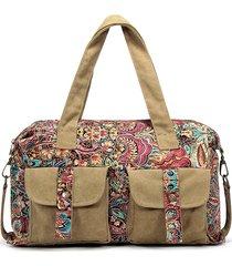 brenice spalla a tracolla casual in tela stile vintage nazionale borsa per donna