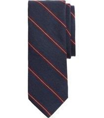 corbata stripe azul brooks brothers