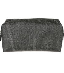 centre top zip pouch