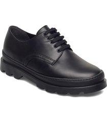brutus snörade skor låga svart camper