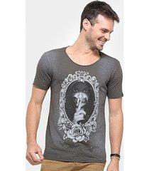 camiseta bossa brasil mirror masculina