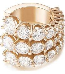 'aria' diamond 18k rose gold triple band ring
