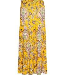 fal florencia lång kjol gul desigual