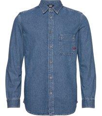d-billy shirt skjorta casual blå diesel men