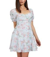 guess short-sleeve heidi dress