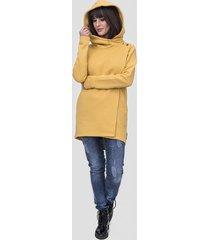 bluza / płaszcz robin kolor musztardowy