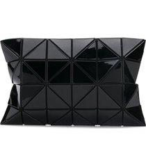 bao bao issey miyake lucent gloss clutch bag - black