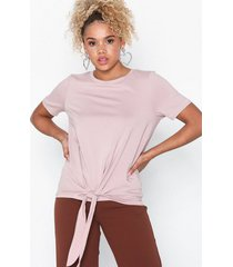 object collectors item objstephanie maxwell s/s top noos t-shirts ljus rosa