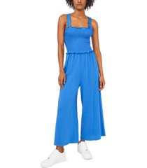 riley & rae smocked jumpsuit, created for macy's