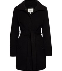bycirla coat - yllerock rock svart b.young