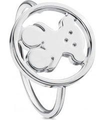 anillo camille de plata tous
