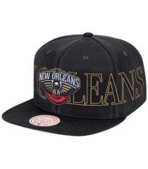 mitchell & ness new orleans pelicans winners circle snapback cap