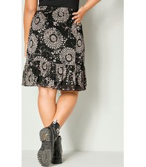 kjol angel of style svart::natur