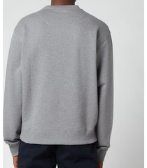 kenzo men's tiger classic sweatshirt - dove grey - xl