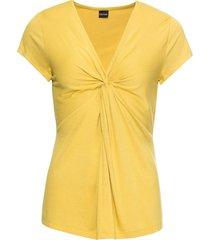 maglia con nodo (giallo) - bodyflirt