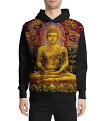 moletom stompy buddha masculino
