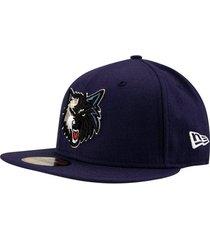 boné new era nba 5950 minnesota timberwolves