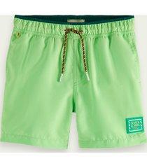 scotch & soda magic print swim shorts