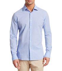 collection long sleeve seersucker woven shirt
