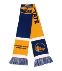 forever collectibles golden state warriors colorblock cropped big logo scarf