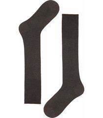 calze lunghe con cashmere