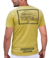camiseta verde parques naturales cht