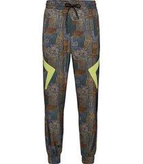 track pants sweatpants mjukisbyxor multi/mönstrad han kjøbenhavn