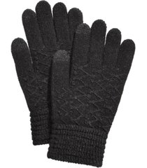 steve madden lurex zig zag itouch gloves