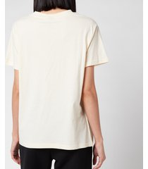p.e nation women's heads up t-shirt - pearled ivory - l
