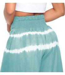 pantalón ancho tie dye en colores marca trucco's