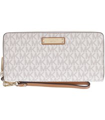 michael kors continental wallet with logo