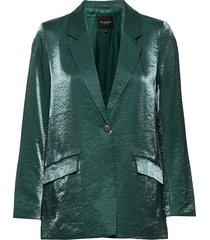 slflulu ls blazer b blazer colbert groen selected femme