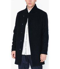 premium by jack & jones jprcollum wool coat sts jackor mörk blå