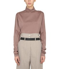 lemaire shirt with band neck