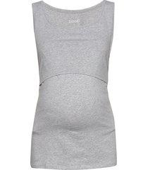 classic tank top t-shirts & tops sleeveless grå boob