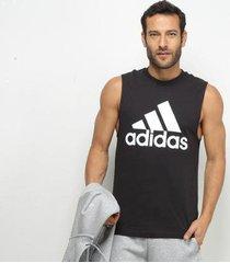 camisa regata adidas mh bos tank masculina