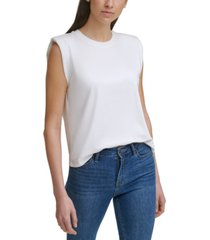 calvin klein padded muscle tee