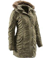 giacca prémaman regolabile con cappuccio (verde) - bpc bonprix collection