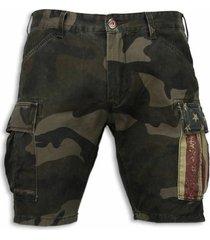 korte broek bb bread buttons korte broeken camouflage shorts
