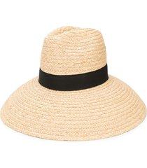 dsquared2 cone-brim woven hat - neutrals