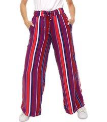 pantalón violeta donadonna
