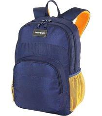 mochila azul samsonite
