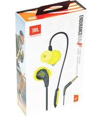 audifonos deportivos impermeables jbl endurance run - amarillo