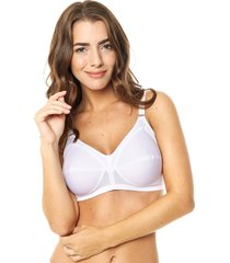 art 7101- corpiño jersey bondeado color blanco