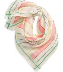 madewell bandana in lighthouse stripe at nordstrom