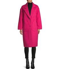 notch lapel coat